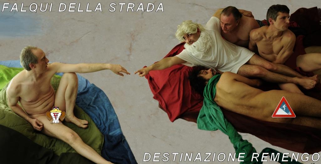 la Creazione di Adamo Michelangelo Buonarroti Falqui della Strada