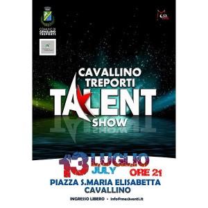 Cavallino Ga Talent - falqui della strada - 13 luglio 2016_ manifesto