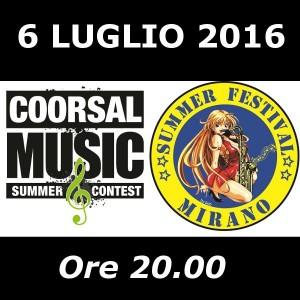 coorsal music summer contest - mirano summer festival venezia