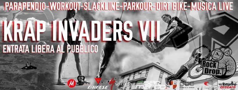 krap invaders 7 rockdrop villa alberizzi
